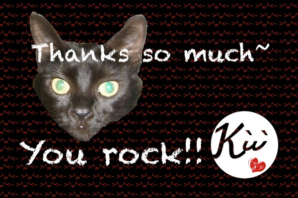 "Kiwi says, ""Thanks!"""