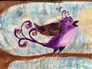 Joyful bird